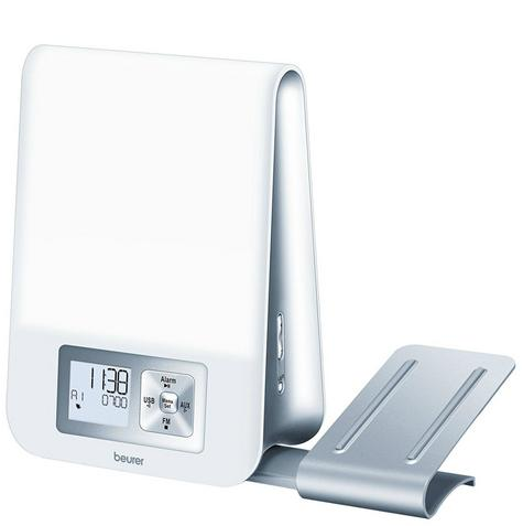 Beurer WL80 Wake-Up Light|Wellness Melody Alarm Clock|Radio|Smartphone Holder| Thumbnail 2