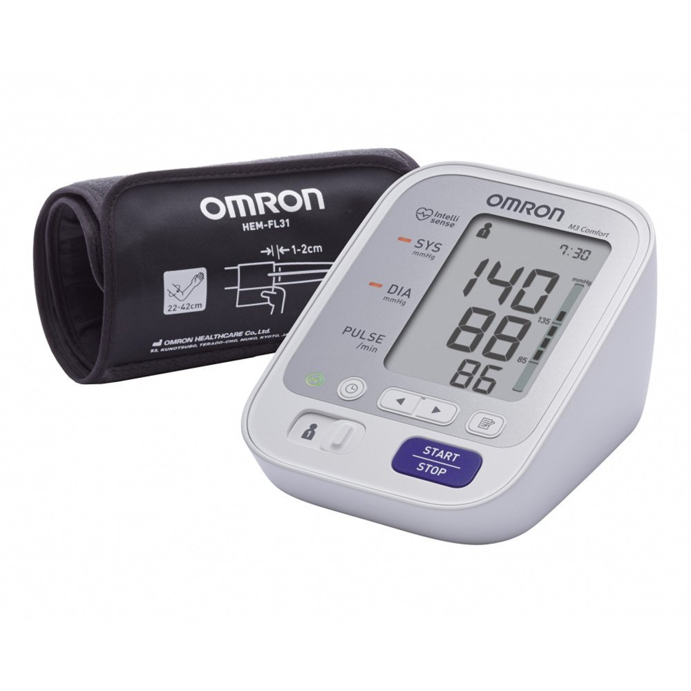 Omron M3 Comfort Upper Arm Blood Pressure Monitor|Digital Display|HEM-7134-E|NEW