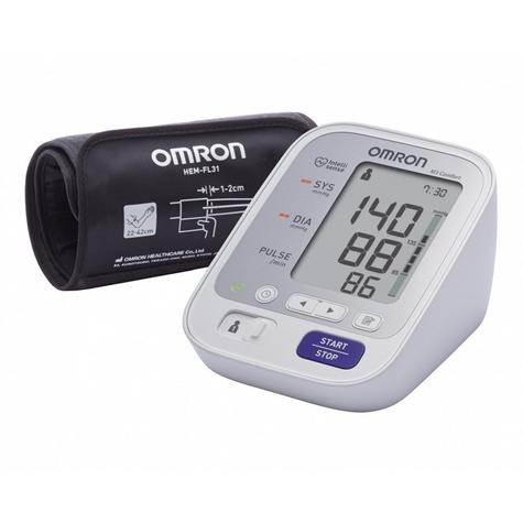 Omron M3 Comfort Upper Arm Blood Pressure Monitor|Digital Display|HEM-7134-E|NEW Thumbnail 1