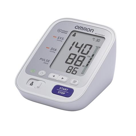 Omron M3 Comfort Upper Arm Blood Pressure Monitor|Digital Display|HEM-7134-E|NEW Thumbnail 2