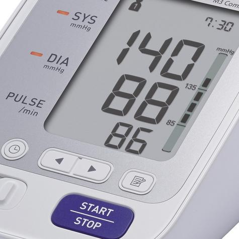 Omron M3 Comfort Upper Arm Blood Pressure Monitor|Digital Display|HEM-7134-E|NEW Thumbnail 3