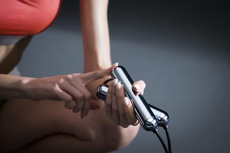 Tangram Smart Fitness Rope | 23 LEDs | Chargable | Calories Burner | Chrome Small Thumbnail 7