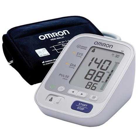 Omron M3 Digital LED Intellisense Upper Arm Blood Pressure Monitor - HEM-7131-E Thumbnail 1