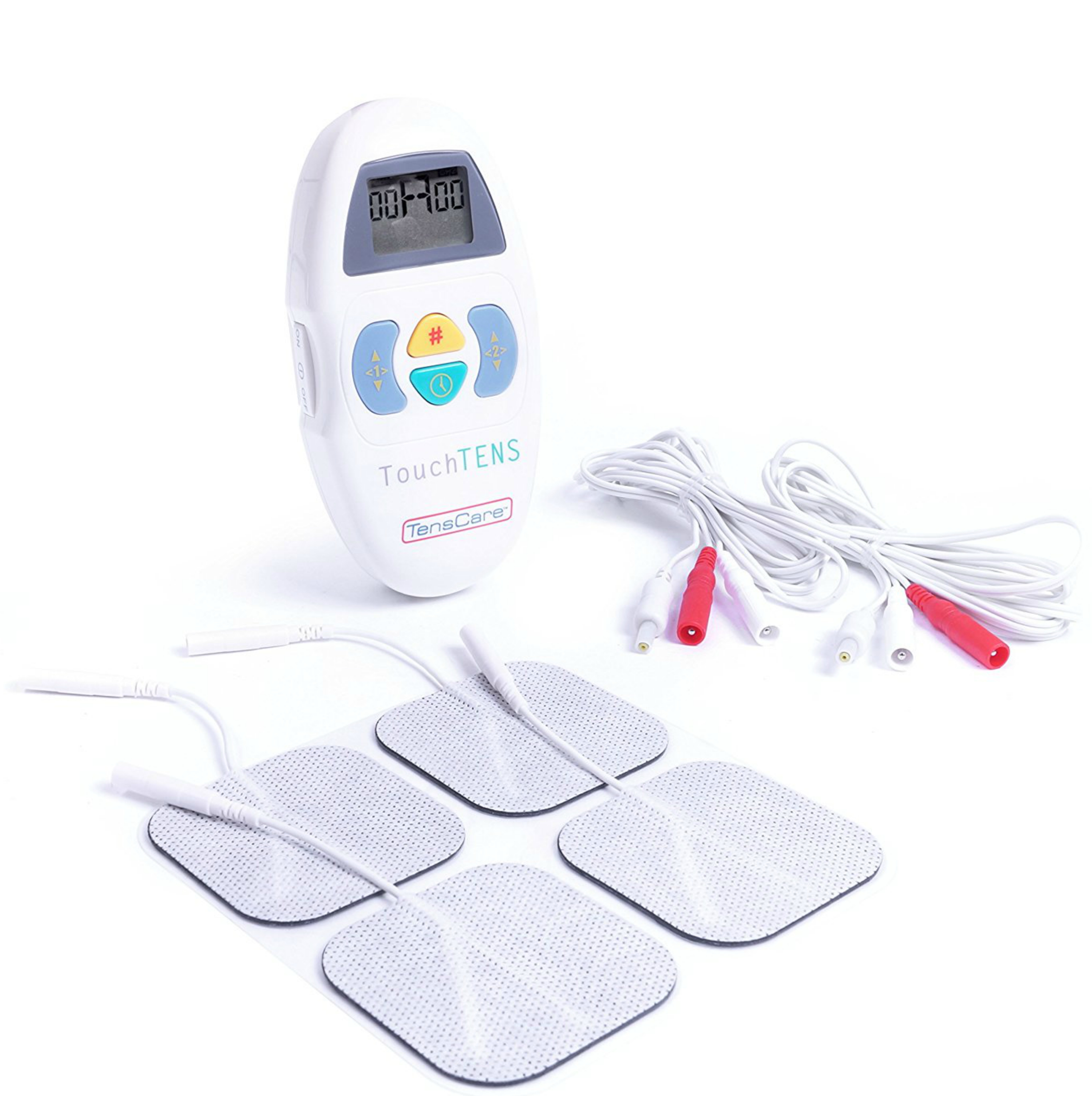 TensCare Touch TENS Unit|Natural Pain Relief Machine|Comfortable Stimulation|New