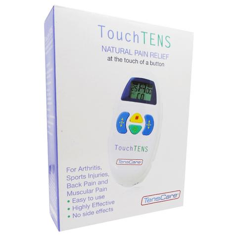 TensCare Touch TENS Unit|Natural Pain Relief Machine|Comfortable Stimulation|New Thumbnail 8