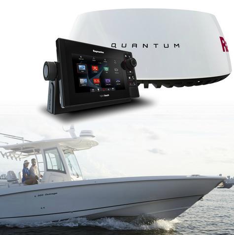 "Raymarine eS78 7"" MFD Wi-Fi|DownVision Sonar|Q24C 18"" Radar|EU Card|10m Cable Thumbnail 1"