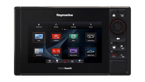 "Raymarine eS78 7"" MFD Wi-Fi|DownVision Sonar|Q24C 18"" Radar|EU Card|10m Cable Thumbnail 3"