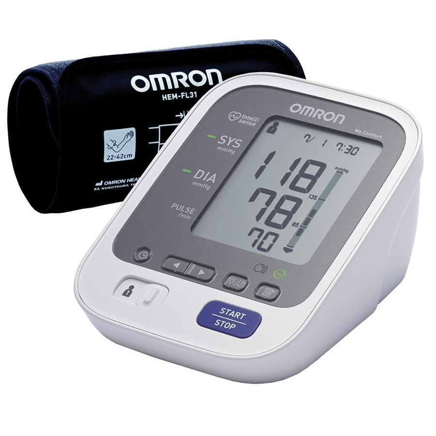 Omron M6 Comfort Y14 Professional Blood Pressure Monitor (HEM-7321-E) - NEW