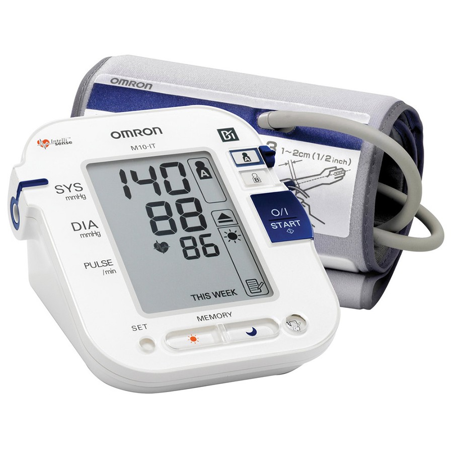 Omron M10 IT Intellisense Morning Hypertension Blood Pressure MonitorHEM-7080I-E