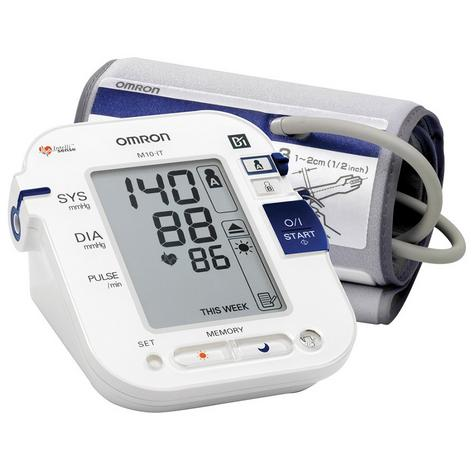 Omron M10 IT Intellisense Morning Hypertension Blood Pressure MonitorHEM-7080I-E Thumbnail 1