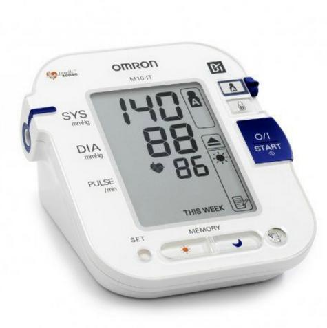 Omron M10 IT Intellisense Morning Hypertension Blood Pressure MonitorHEM-7080I-E Thumbnail 2