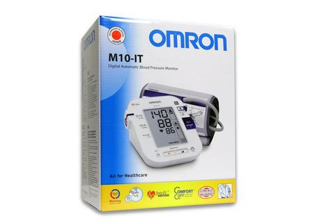 Omron M10 IT Intellisense Morning Hypertension Blood Pressure MonitorHEM-7080I-E Thumbnail 4