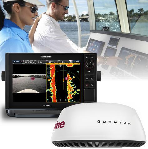 "Raymarine eS75 7"" MFD|Wi-Fi|Quantum Q24C 18"" Radar|10m Cable|EU Card|For Marine Thumbnail 1"