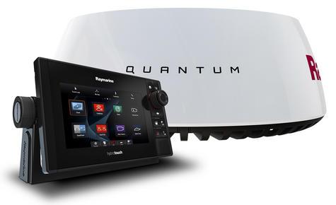 "Raymarine eS75 7"" MFD|Wi-Fi|Quantum Q24C 18"" Radar|10m Cable|EU Card|For Marine Thumbnail 2"