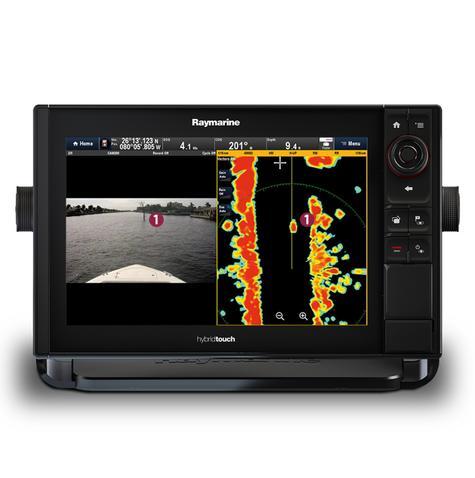 "Raymarine eS75 7"" MFD|Wi-Fi|Quantum Q24C 18"" Radar|10m Cable|EU Card|For Marine Thumbnail 4"
