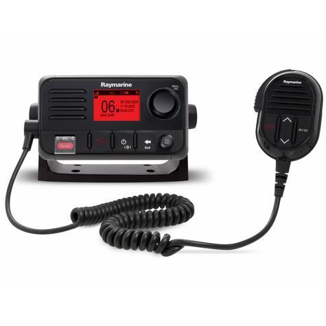Raymarine E70243 Ray50 Compact Marine VHF Radio 25W Class D DSC LCD Sleek-Black Thumbnail 3