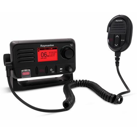 Raymarine E70243 Ray50 Compact Marine VHF Radio 25W Class D DSC LCD Sleek-Black Thumbnail 4