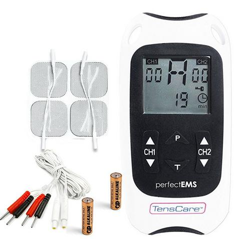TensCare Perfect EMS Muscle Stimulator Tens -Toning & Body Pain Relief Machine Thumbnail 1