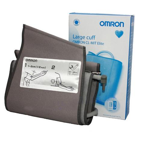 Omron Upper Arm Blood Pressure Monitor Large Cuff For MIT Elite/Plus|32-42 cm| Thumbnail 1