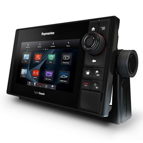 "Raymarine E70263|eS75 Hybrid Touch MFD-7""|CHIRP|Sonar|C-MAP|Wi-Fi/BT|AIS|IPX6/IPX7 Thumbnail 4"