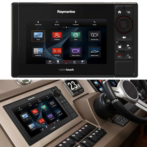 "Raymarine E70263|eS75 Hybrid Touch MFD-7""|CHIRP|Sonar|C-MAP|Wi-Fi/BT|AIS|IPX6/IPX7 Thumbnail 5"