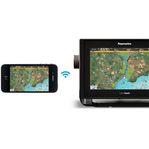 "Raymarine E70263|eS75 Hybrid Touch MFD-7""|CHIRP|Sonar|C-MAP|Wi-Fi/BT|AIS|IPX6/IPX7 Thumbnail 8"