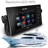 "Raymarine E70263|eS75 Hybrid Touch MFD-7""|CHIRP|Sonar|C-MAP|Wi-Fi/BT|AIS|IPX6/IPX7"