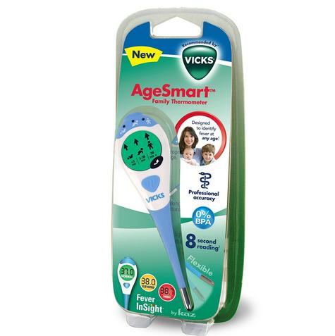 Vicks VDT969 AgeSmart Family Thermometer|3 In 1|Oral / Underarm / Rectal Use|New Thumbnail 6