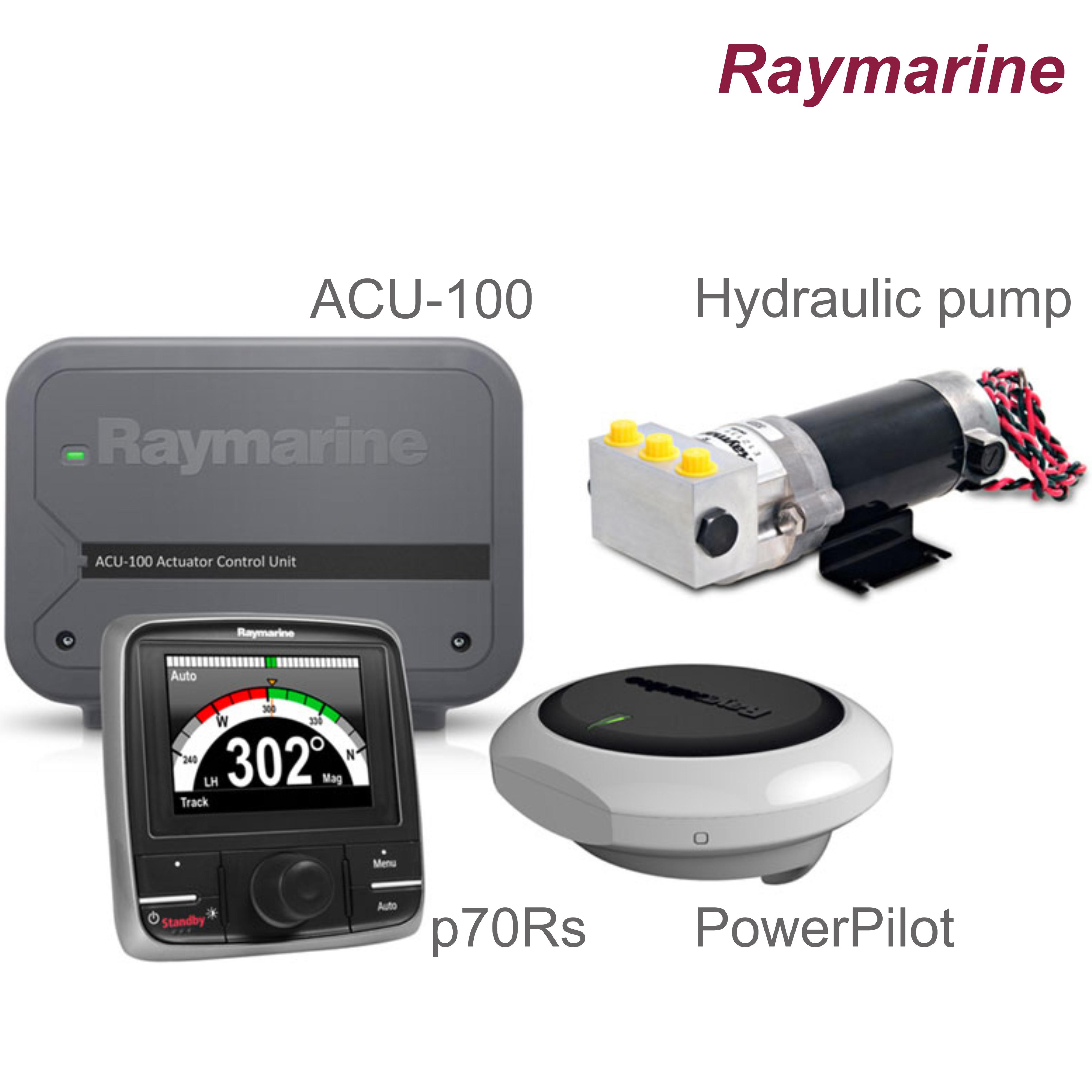 Raymarine-T70154|Evolution PowerPilot|Control Head|0.5l Hydraulic Pump|In Marine