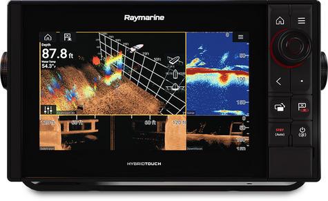"Raymarine-E7037100NSD|Axiom 9 Pro-RVX|9""MFD 1kW Sonar|DV SC RV 3D Marine Sonar Thumbnail 3"
