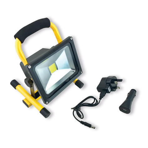 Infapower F049 20W LED Portable Rechargeable COB Worklight|Home|Car|Outdoor Use| Thumbnail 2