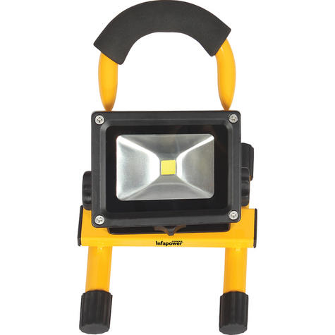 Infapower F048 10W LED Portabl Rechargeable COB Work/Flood light With Handle kit Thumbnail 2