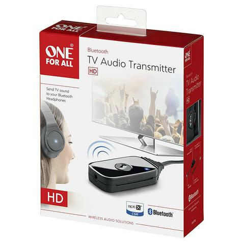 One For All SV1770 Bluetooth TV Audio Transmitter|USB Power|3.5 mm Cable|Black| Thumbnail 7