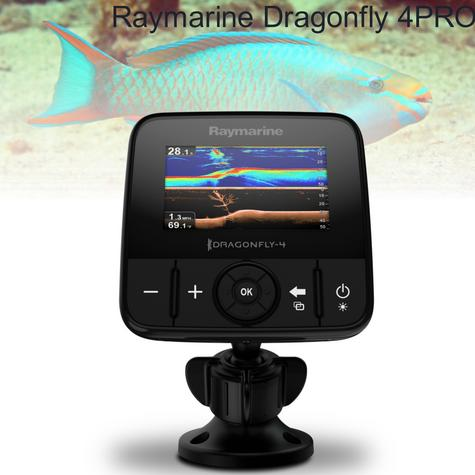 "Raymarine Dragonfly 4PRO-4.3"" LCD Fish Finder