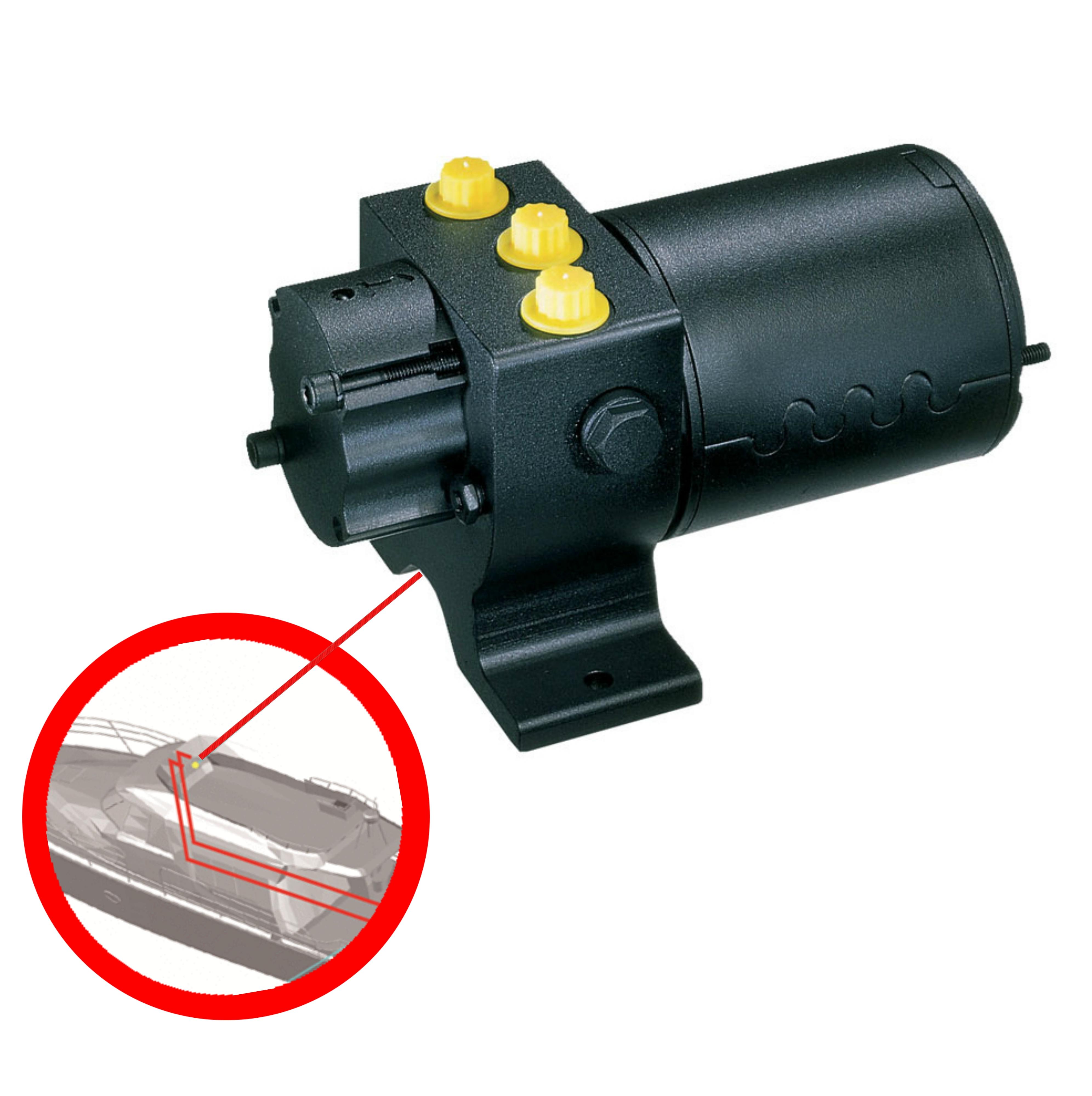 Raymarine-M81120|Type Hydraulic 1/12v|Inboard Pump|80cc-230cc|Marine Drive Unit
