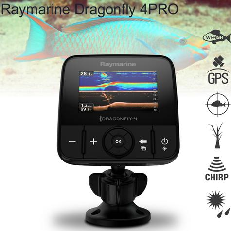 "Raymarine Dragonfly 4PRO-4.3"" Fish-Finder