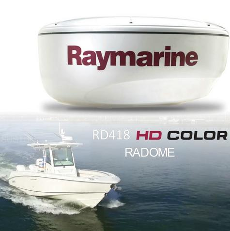 "Raymarine RD418HD|Super HD Digital Radome Scanner|18"" 4KW