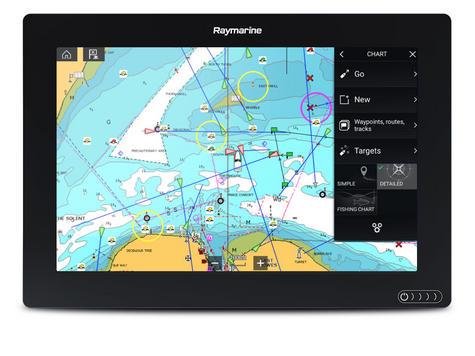 "Raymarine-E7036900NSD Axiom 12RV 12"" MFD Realvision 3D 600W Sonar Nav+ Chart Marine Thumbnail 3"