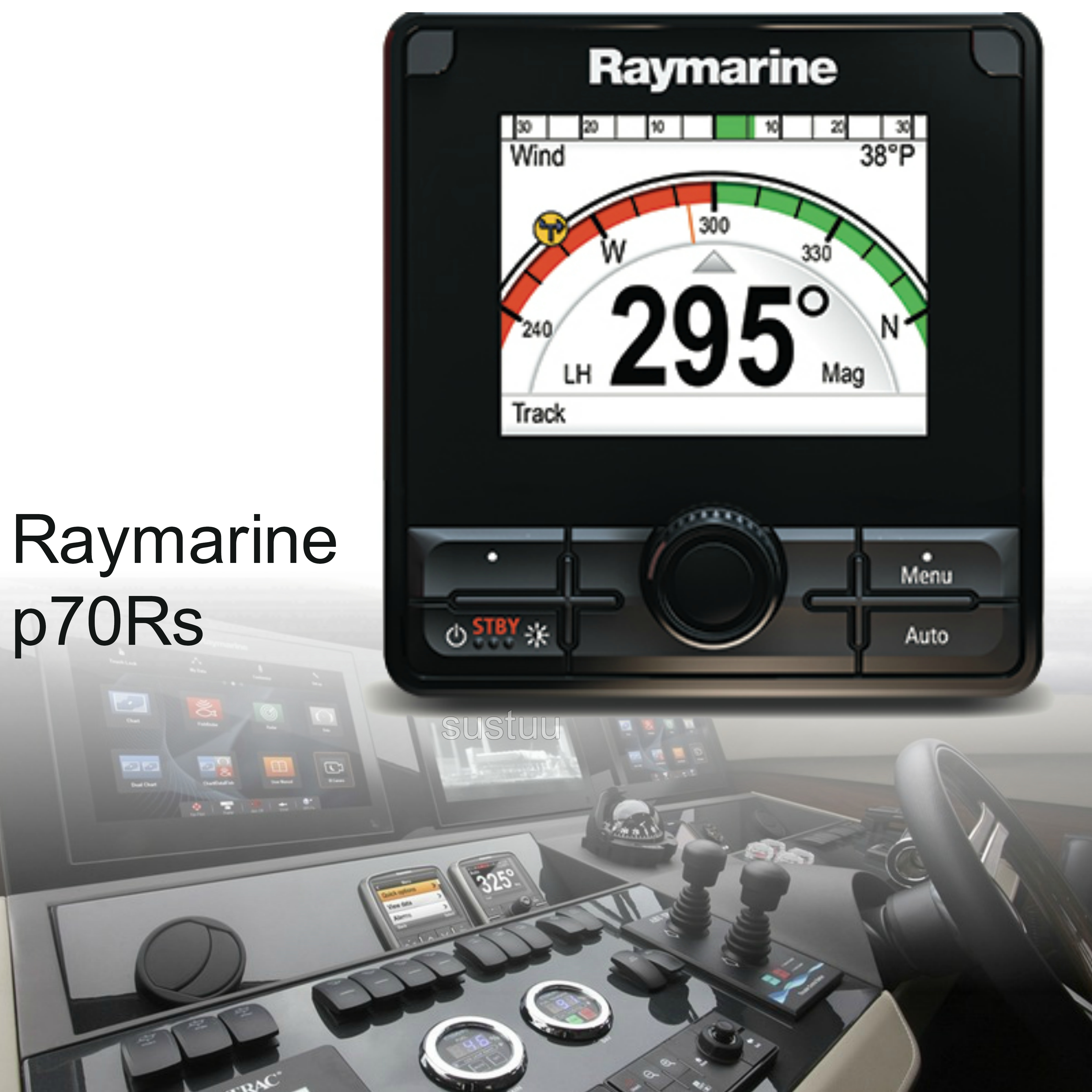 "Raymarine E70329|p70Rs AutoPilot Control Head|3.5"" LCD
