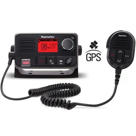 Raymarine E70345|Ray52 Compact Marine VHF LCD Radio|GPS|Class-D|DSC|Sleek-Black Look Thumbnail 2