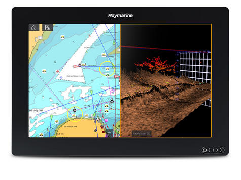 "Raymarine Axiom 9RV 9"" MFD Display with Realvision 3D & 600W Sonar 