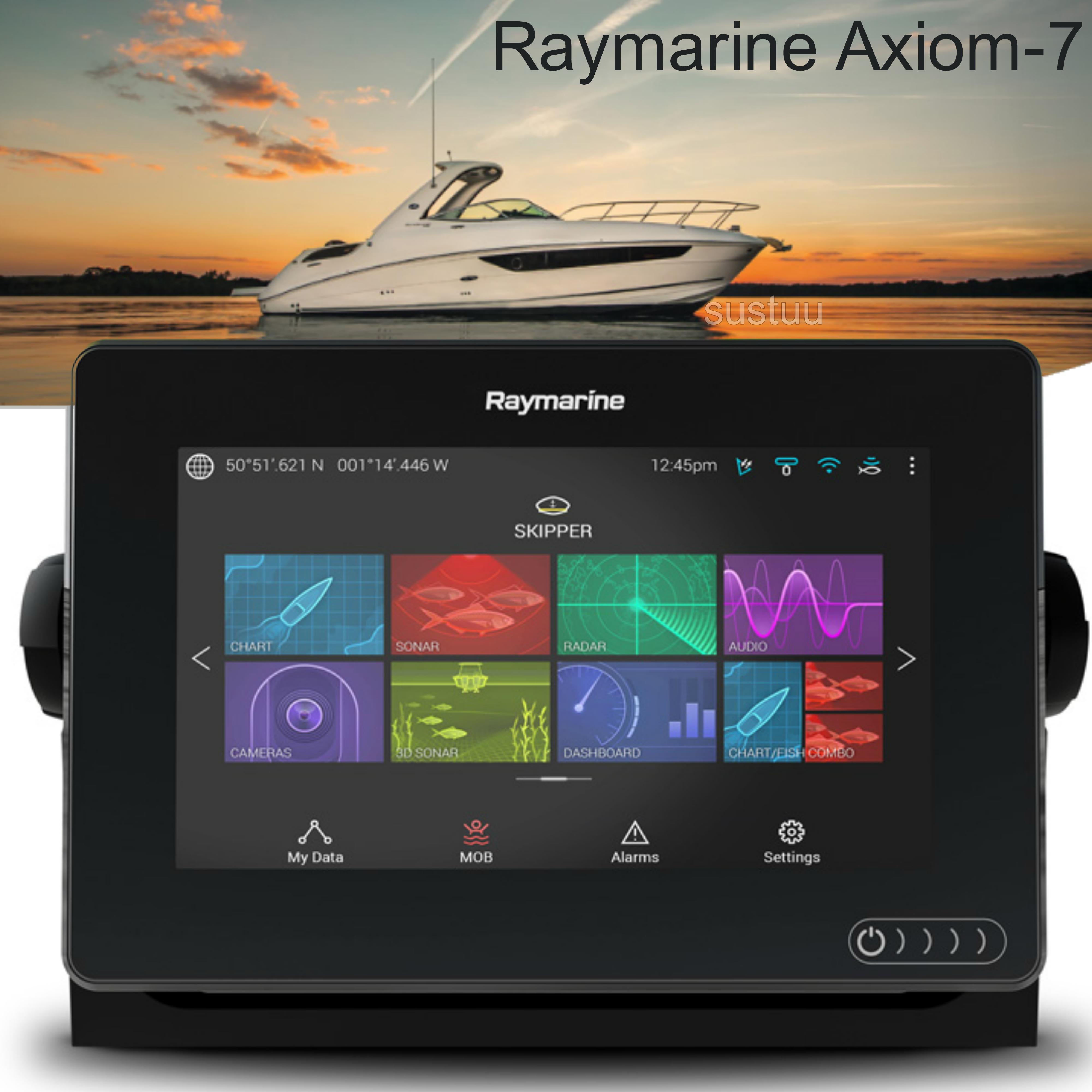 "Raymarine E70363|Axiom-7 Navigation MFD|7"" LCD|?CHIRP DV|GPS/GLONASS|IPX6/7"