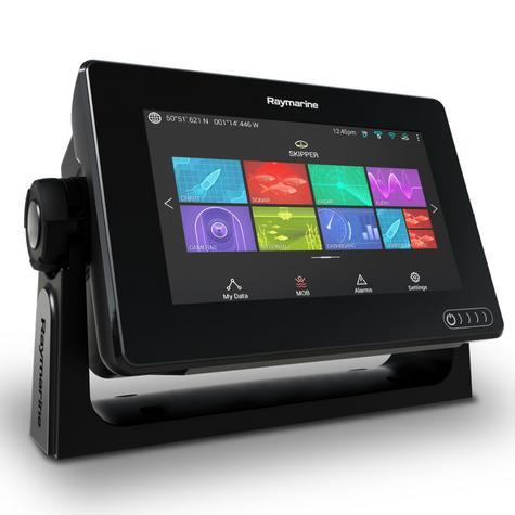 "Raymarine E70363|Axiom-7 Navigation MFD|7"" LCD|?CHIRP DV|GPS/GLONASS|IPX6/7 Thumbnail 3"