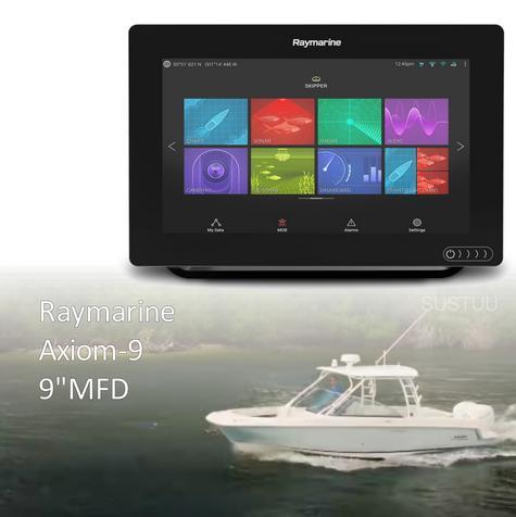 "Raymarine-E7036600NSD|Axiom-9|9"" MFD Display|Nav+ Small Chart|Marine Navigator Thumbnail 1"
