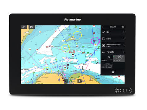 "Raymarine-E7036600NSD|Axiom-9|9"" MFD Display|Nav+ Small Chart|Marine Navigator Thumbnail 3"