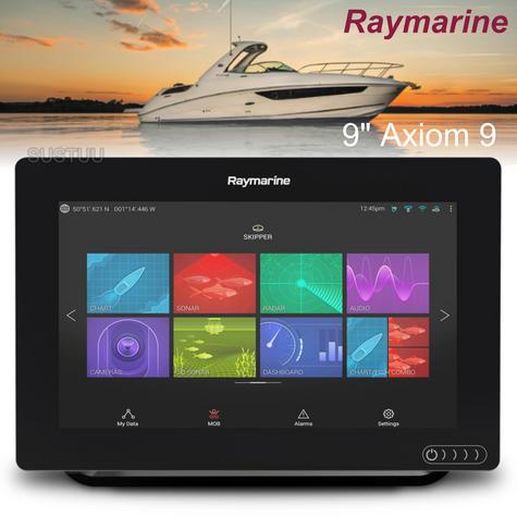 "Raymarine Axiom 9 | 9"" MFD Display | RealVision 3D Sonar | CHIRP/GPS/GLONASS | E70366 Thumbnail 1"