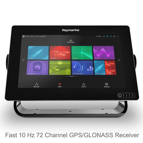 "Raymarine Axiom 9 | 9"" MFD Display | RealVision 3D Sonar | CHIRP/GPS/GLONASS | E70366 Thumbnail 3"