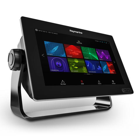 "Raymarine Axiom 9 | 9"" MFD Display | RealVision 3D Sonar | CHIRP/GPS/GLONASS | E70366 Thumbnail 5"