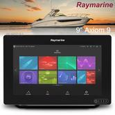"Raymarine Axiom 9 | 9"" MFD Display | RealVision 3D Sonar | CHIRP/GPS/GLONASS | E70366"