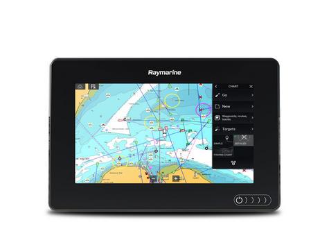 "Raymarine E7036402NSD|Axiom 7RV|7""MFD Display|3D 600W Sonar|Marine Nav+ Chart Thumbnail 3"